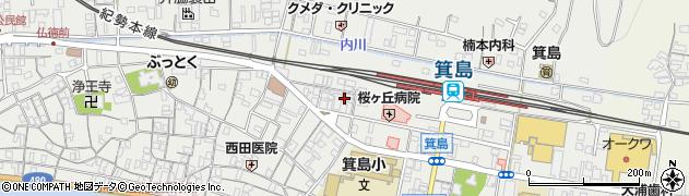 和歌山県有田市箕島平尾周辺の地図