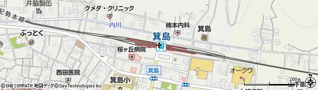 和歌山県有田市周辺の地図