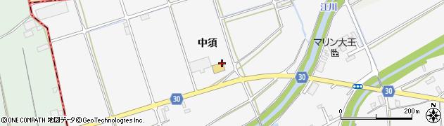 徳島県石井町(名西郡)高原(中須)周辺の地図