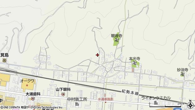 〒649-0303 和歌山県有田市新堂の地図