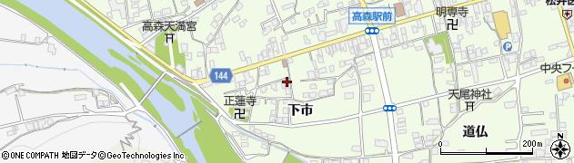 山口県岩国市周東町下久原下市周辺の地図