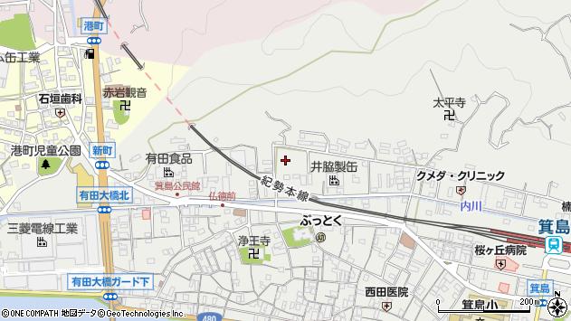 〒649-0304 和歌山県有田市箕島の地図