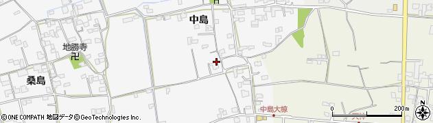 徳島県石井町(名西郡)高原(中島)周辺の地図