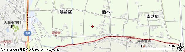 徳島県徳島市国府町芝原(橋本)周辺の地図