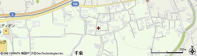 山口県岩国市周東町下久原(千束)周辺の地図