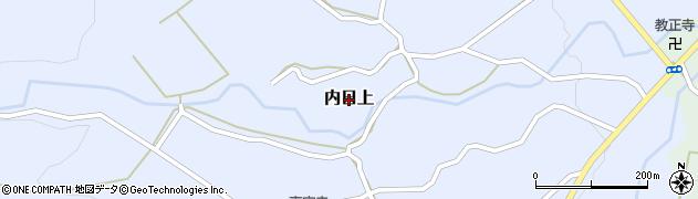 山口県下関市内日上周辺の地図