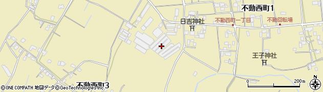 徳島県徳島市不動西町周辺の地図
