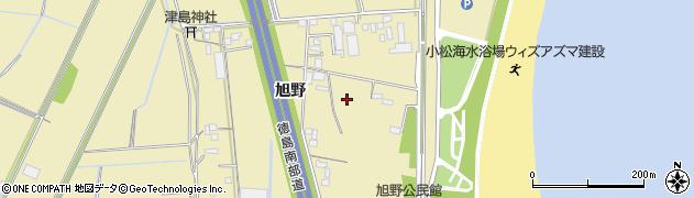 徳島県徳島市川内町(旭野)周辺の地図