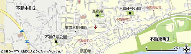 不動団地周辺の地図