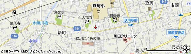 山口県岩国市玖珂町周辺の地図