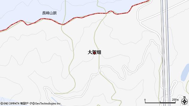 〒643-0847 和歌山県有田郡有田川町大賀畑の地図