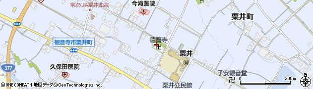 徳賢寺周辺の地図