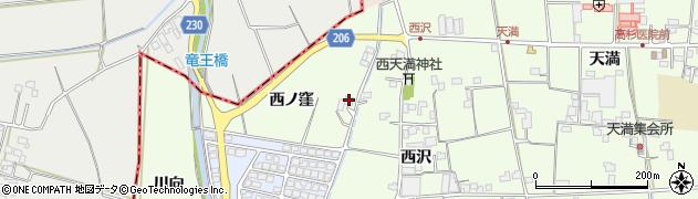 徳島県徳島市国府町芝原(西ノ窪)周辺の地図