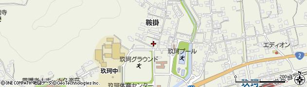 山口県岩国市玖珂町(鞍掛)周辺の地図