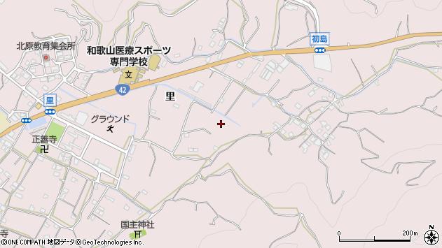 〒649-0307 和歌山県有田市初島町里の地図
