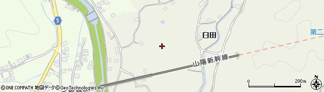 山口県岩国市玖珂町(臼田)周辺の地図