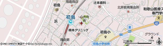 初島タクシー周辺の地図