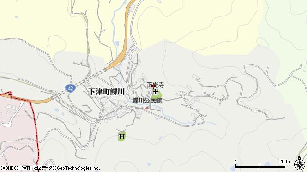 〒649-0163 和歌山県海南市下津町鰈川の地図
