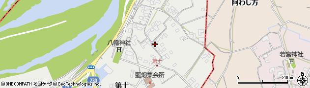 徳島県石井町(名西郡)藍畑(第十)周辺の地図