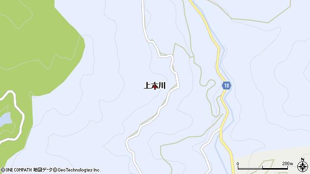 〒643-0171 和歌山県有田郡有田川町上六川の地図