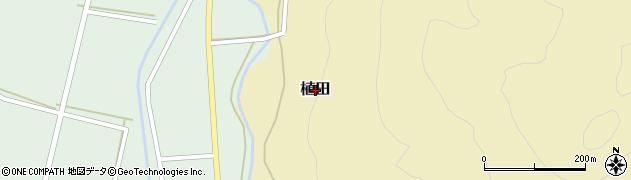 山口県下関市植田周辺の地図
