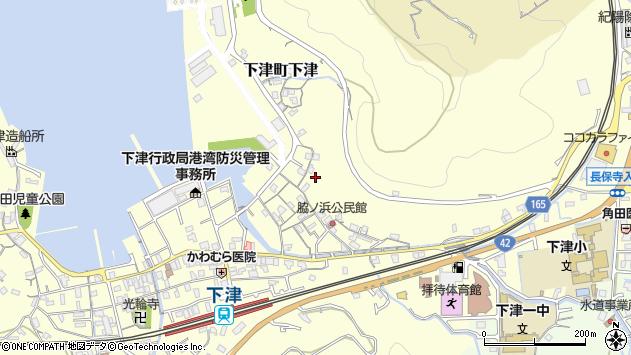 〒649-0101 和歌山県海南市下津町下津の地図