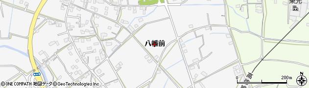 徳島県徳島市応神町東貞方(八幡前)周辺の地図