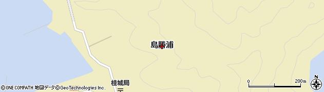 三重県紀北町(北牟婁郡)島勝浦周辺の地図