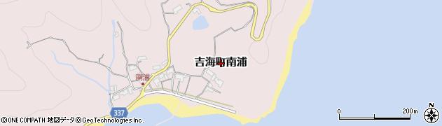 愛媛県今治市吉海町南浦周辺の地図
