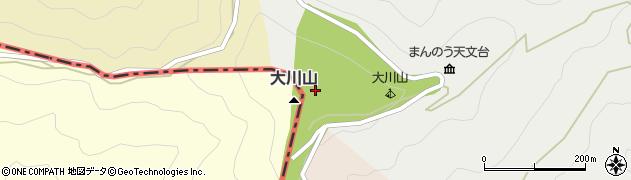 大川神社周辺の地図