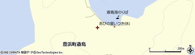 広島県呉市豊浜町大字斎島周辺の地図