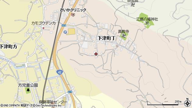 〒649-0123 和歌山県海南市下津町丁の地図