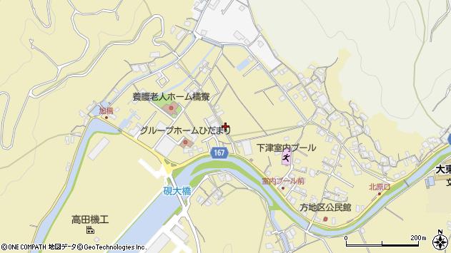 〒649-0111 和歌山県海南市下津町方の地図