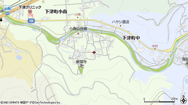 〒649-0141 和歌山県海南市下津町小南の地図