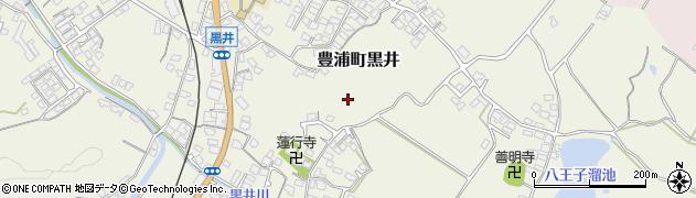 山口県下関市豊浦町大字黒井周辺の地図