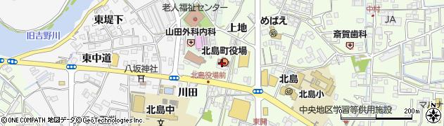徳島県北島町(板野郡)周辺の地図