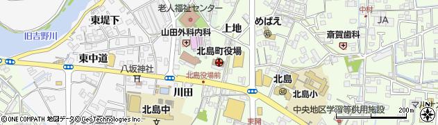 徳島県板野郡北島町周辺の地図