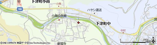 加茂川周辺の地図