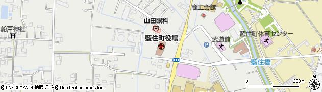 徳島県板野郡藍住町周辺の地図
