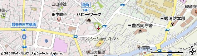 仏証寺周辺の地図