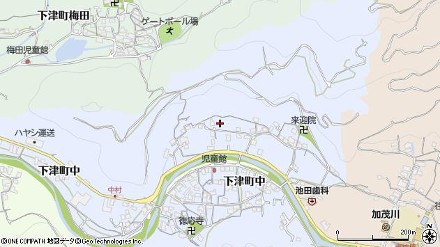 〒649-0142 和歌山県海南市下津町中の地図