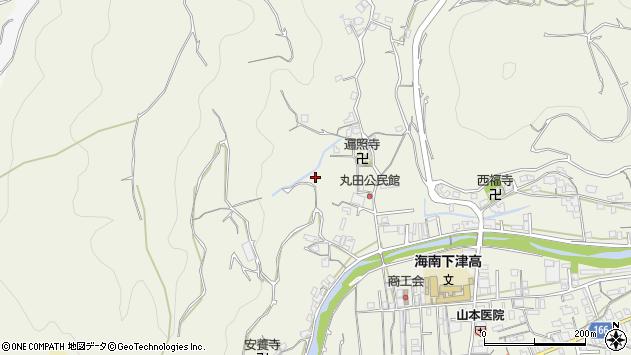 〒649-0121 和歌山県海南市下津町丸田の地図