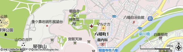 惣持寺周辺の地図