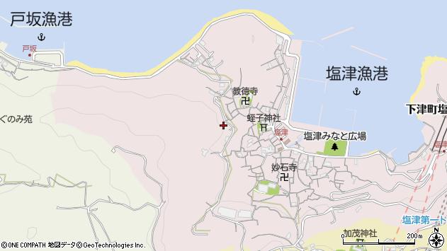 〒649-0131 和歌山県海南市下津町塩津の地図