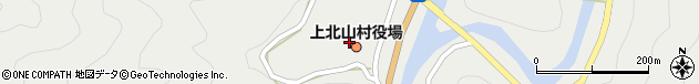 奈良県吉野郡上北山村周辺の地図