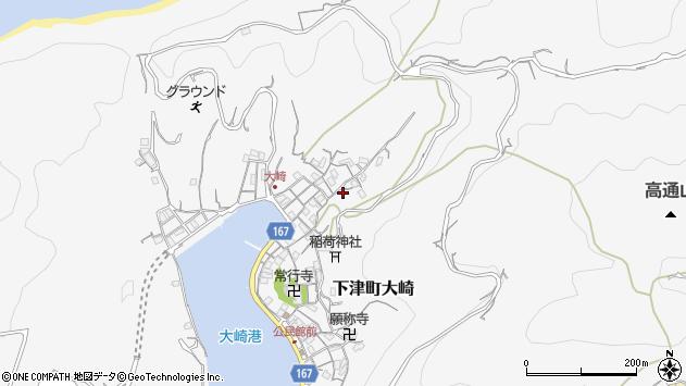 〒649-0112 和歌山県海南市下津町大崎の地図
