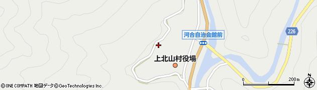 上北山村立村民総合会館周辺の地図