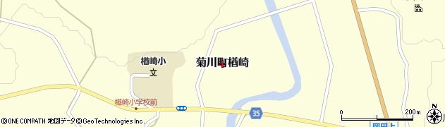 山口県下関市菊川町大字楢崎周辺の地図