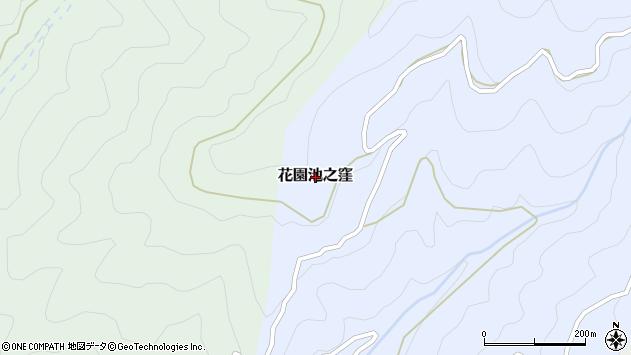 〒643-0613 和歌山県伊都郡かつらぎ町花園池ノ窪の地図
