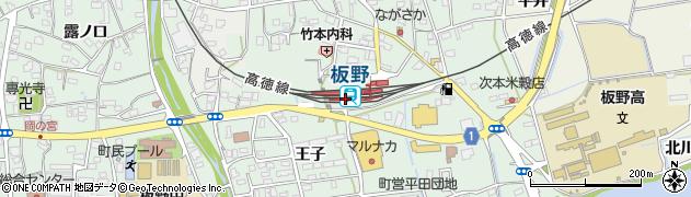 徳島県板野郡板野町周辺の地図